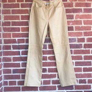 Carlisle Leather Pants sz 8